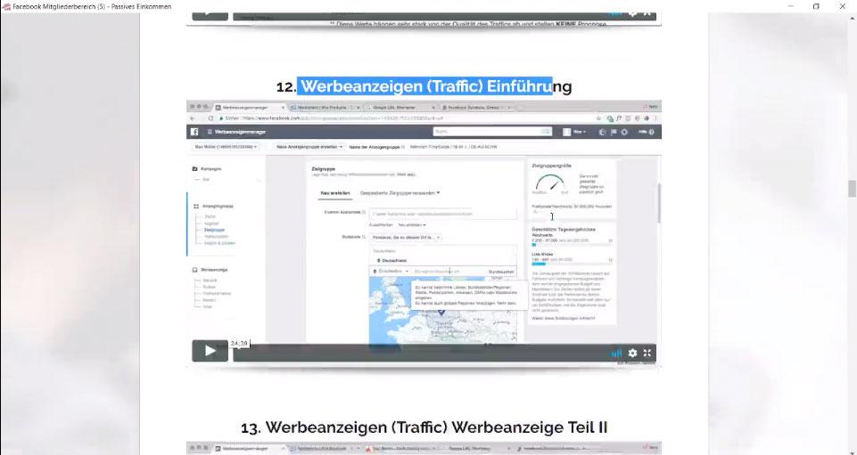 Werbeanzeigen-(Traffic)-Einführung