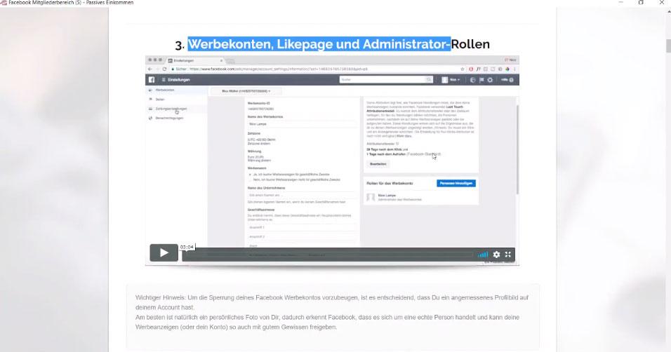 Werbekonten,-Likepage-und-Administrator-Rollen