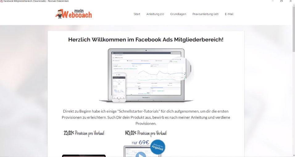 Facebook Ads Kurse 2.0 von Nico Lampe