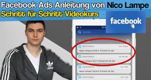 nico lampe facebook ads anleitung