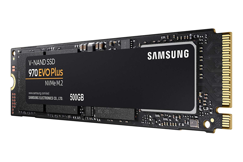 Samsung SSD 970 EVO Plus mit 500 GB