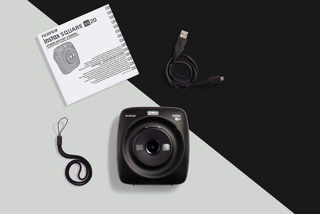 Fujifilm Instax Square SQ20 Lieferumfang