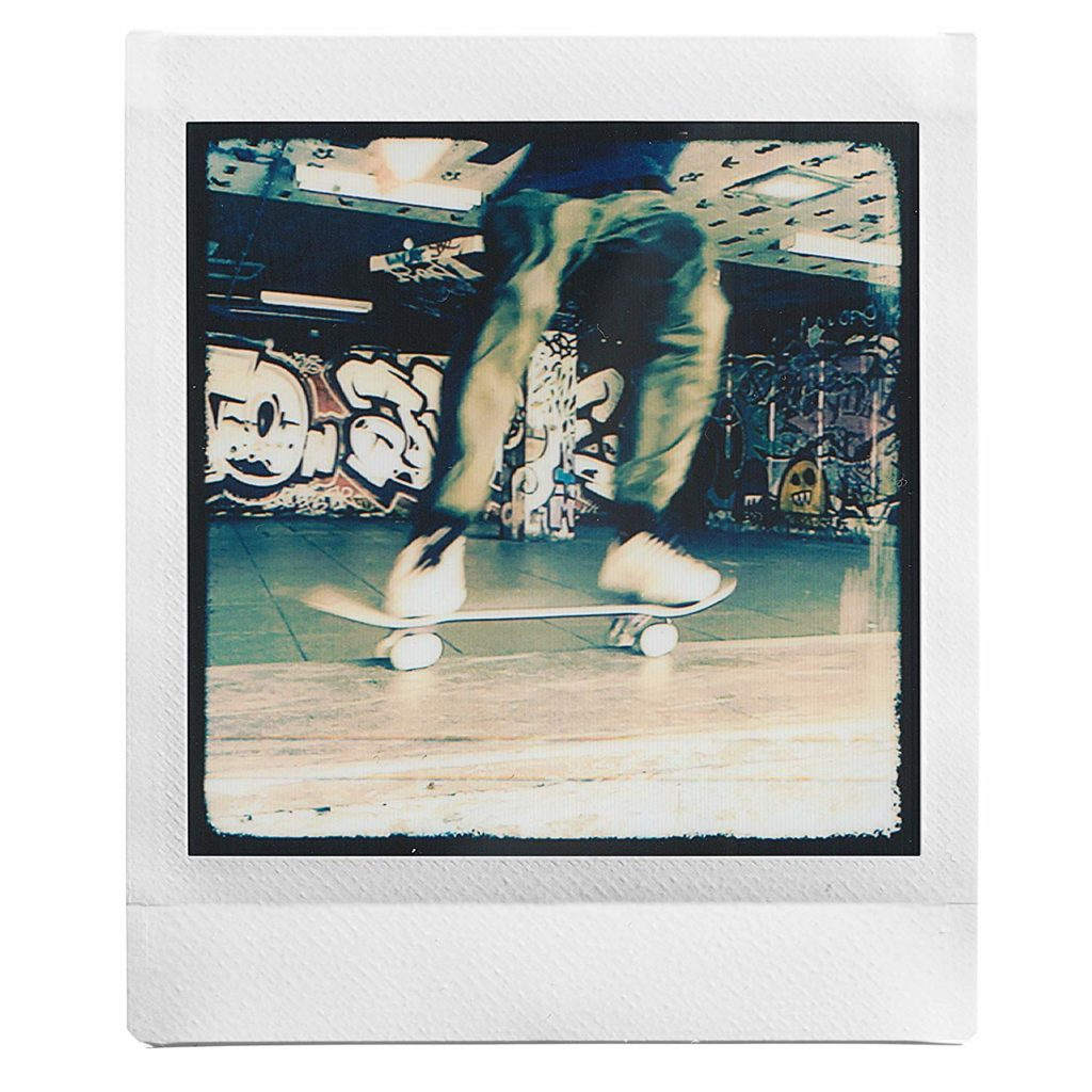 Fujifilm Instax Square SQ20 Skateboard Foto