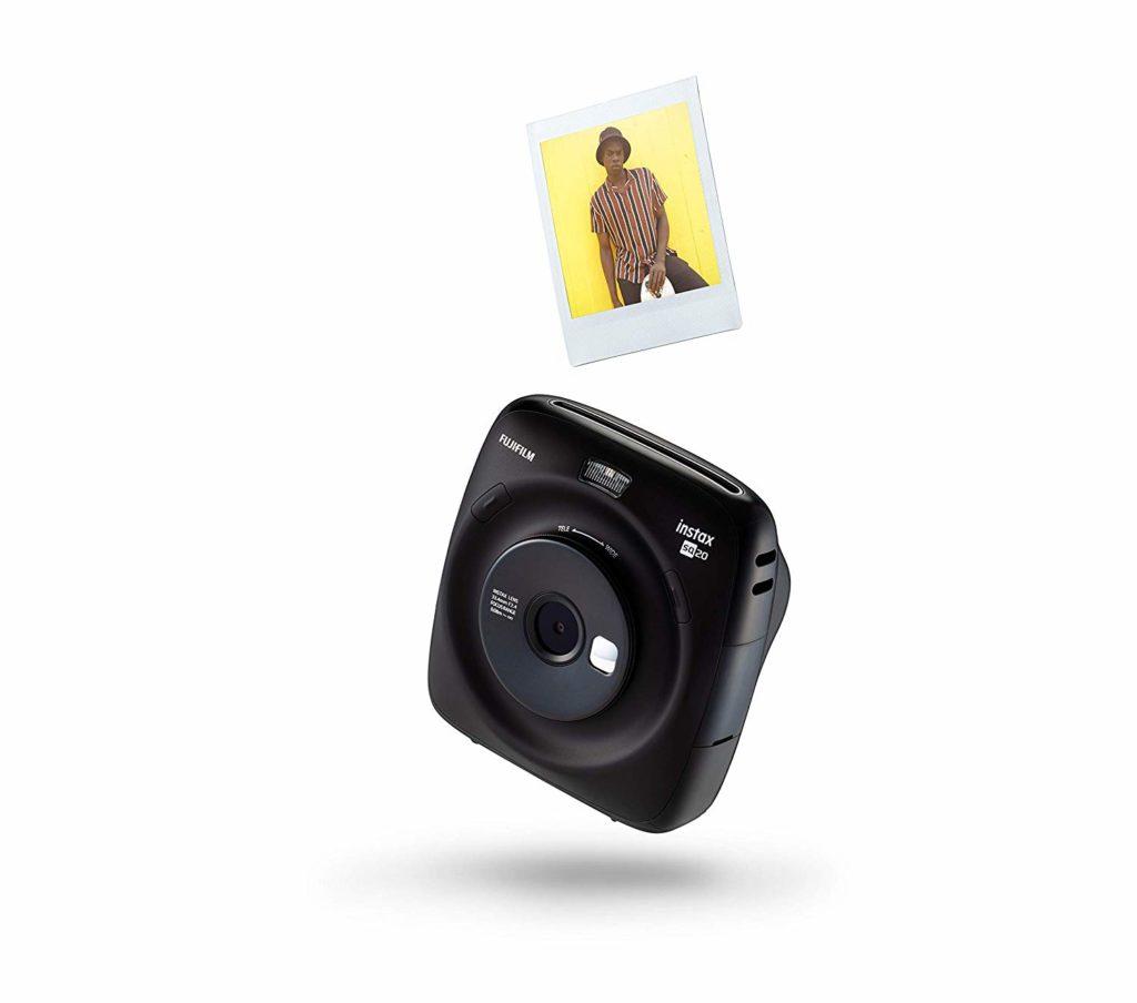 Fujifilm Instax Square SQ20 in Schwarz
