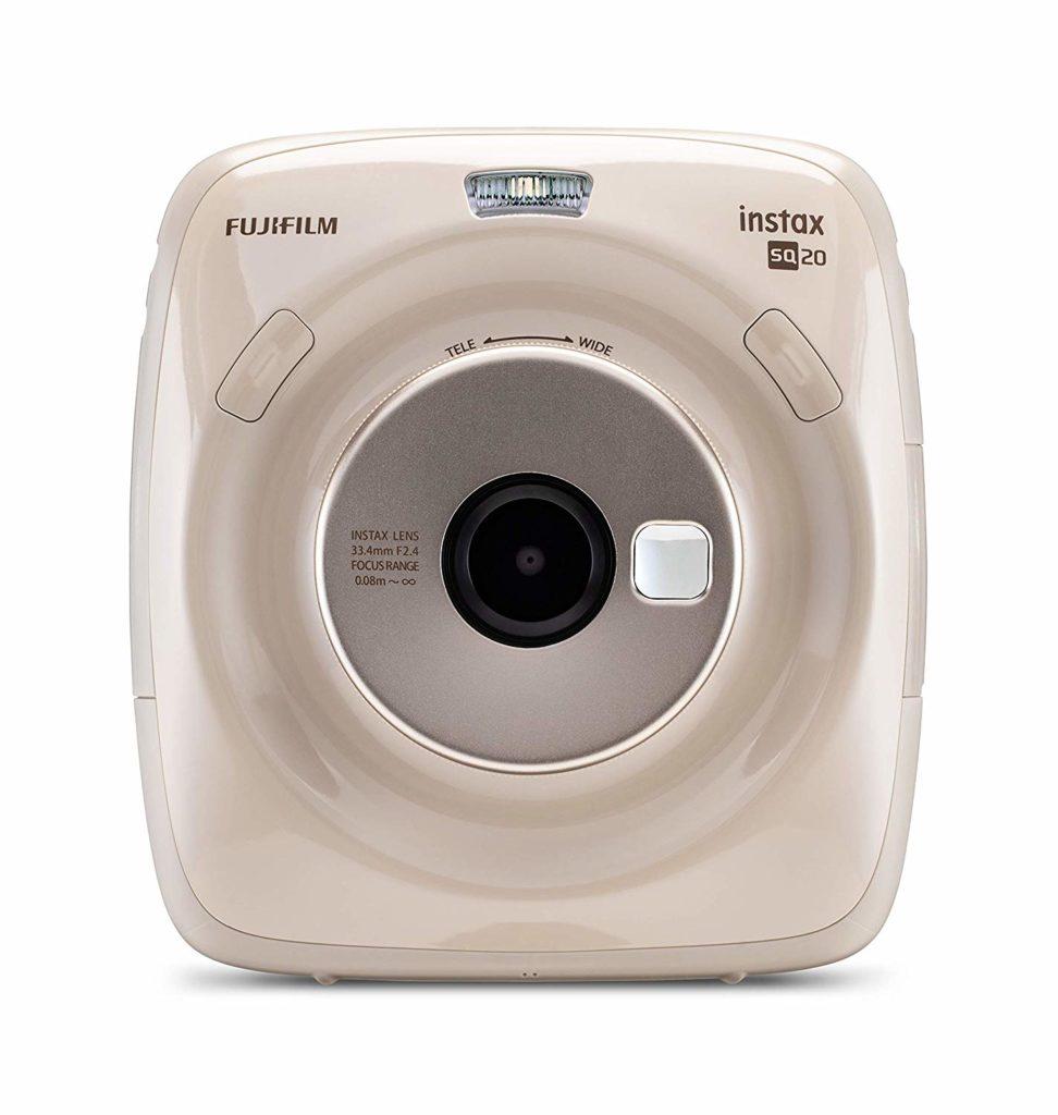 Fujifilm Instax Square SQ20 in der Farbe beige