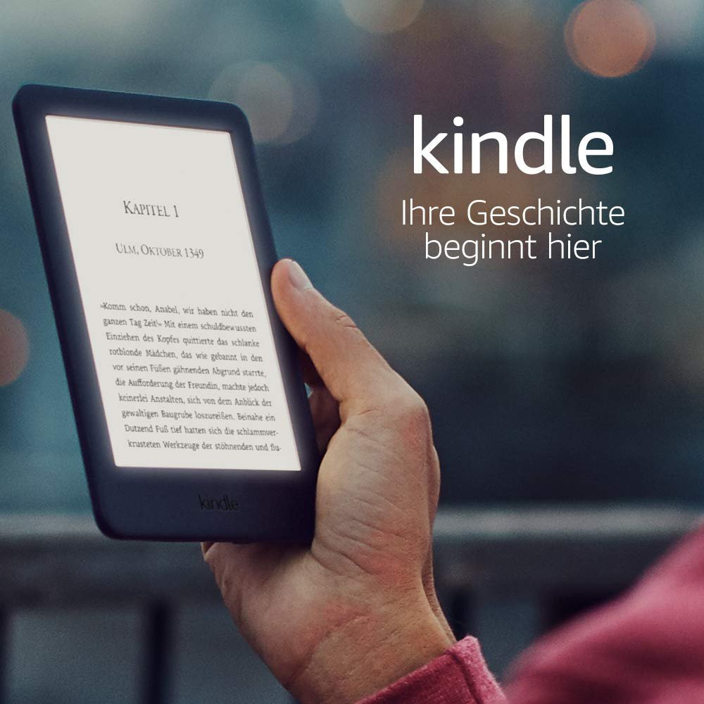 Kindle 2019 mit Hörbuch Funktion