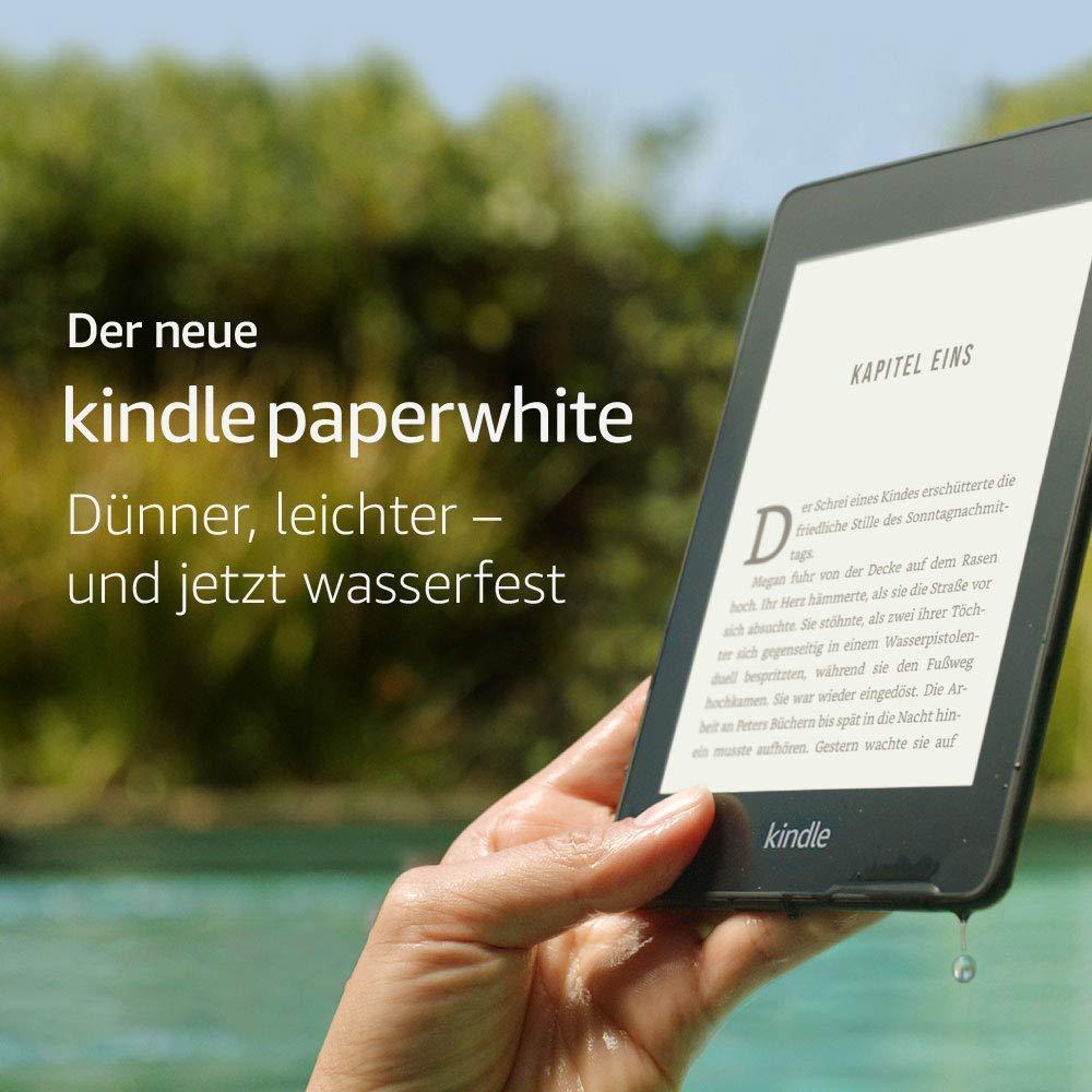 Kindle Paperwhite mit Wasserschutz