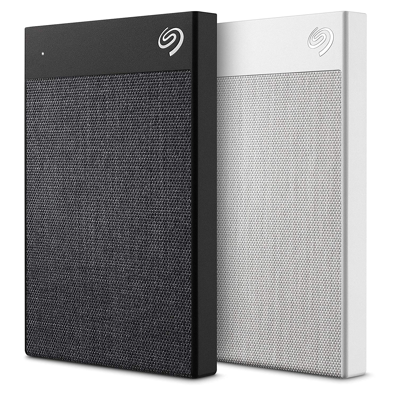 Seagate Backup Plus Ultra Touch in schwarz oder weiss erhältlich