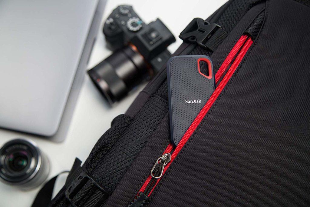 SanDisk Extreme Pro Portable SSD Klein und leicht