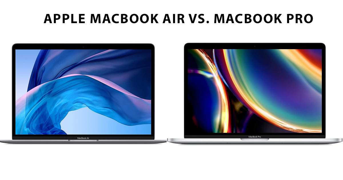 Apple-Macbook-Air-2020-vs.-Macbook-Pro