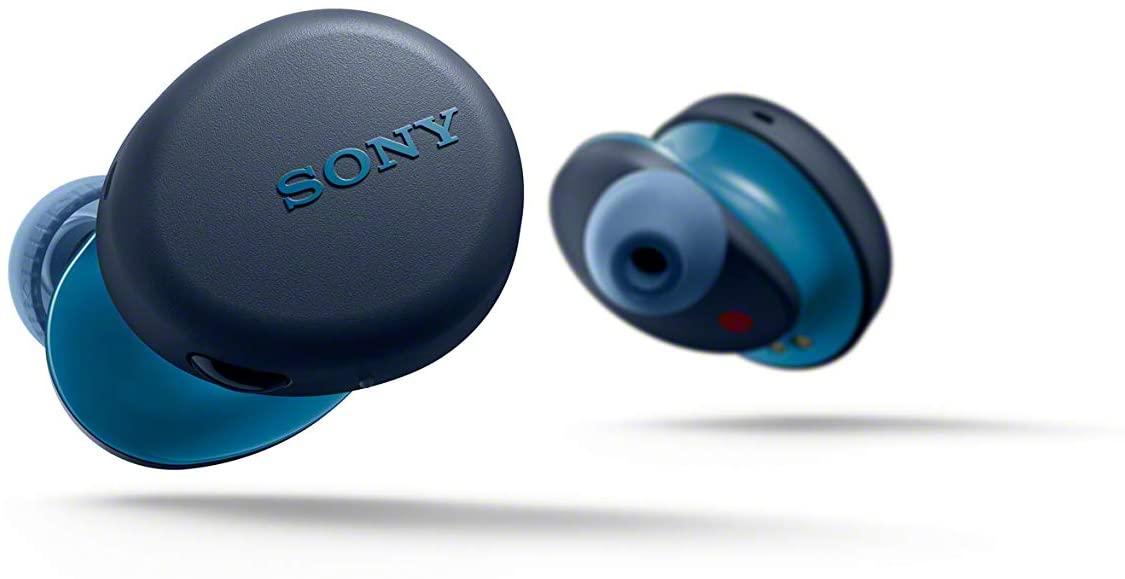 Sony WF-XB700 im Test - Farbe Blau