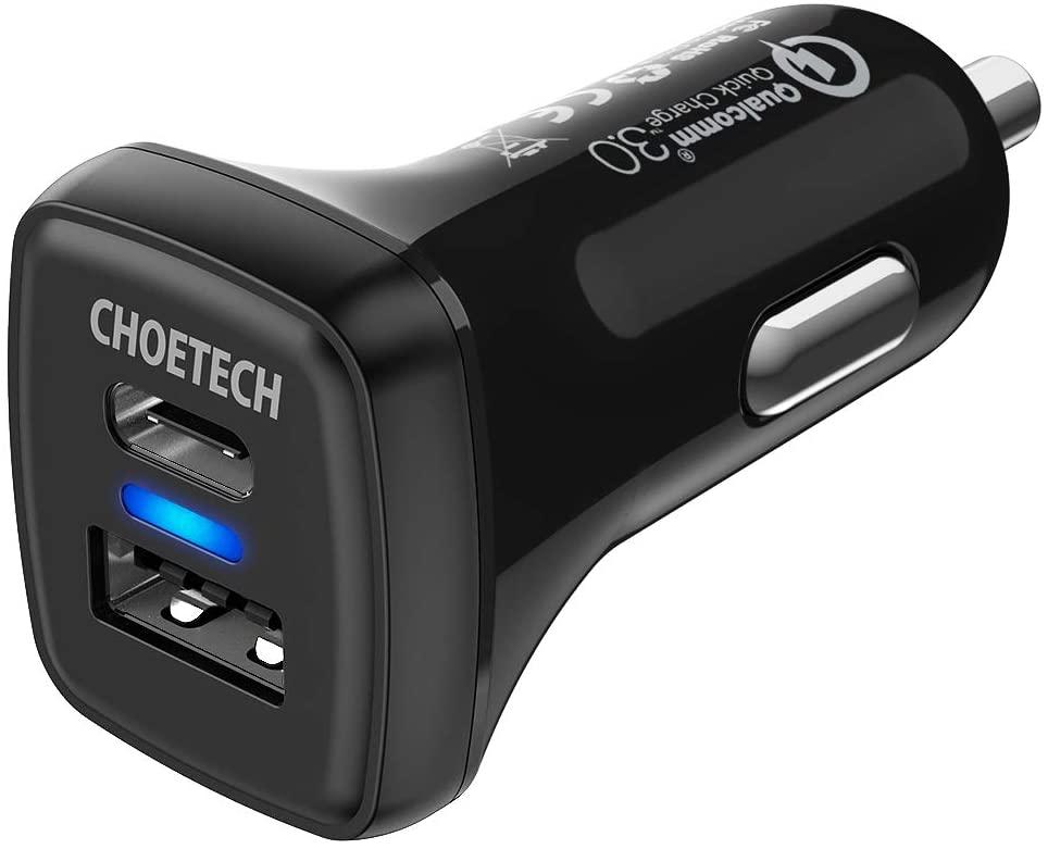 CHOETECH 36W USB-C-Auto Ladegerät