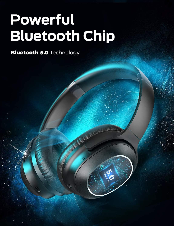 Tribit QuietPlus 72 Noise Cancelling Kopfhörer mit Bluetooth 5.0