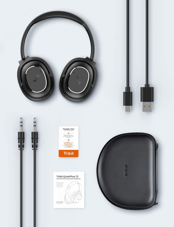 Tribit QuietPlus 72 Noise Cancelling Lieferumfang