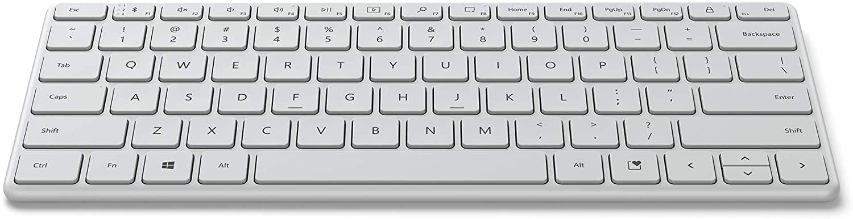 Microsoft Designer Compact Keyboard mit flachen Tasten