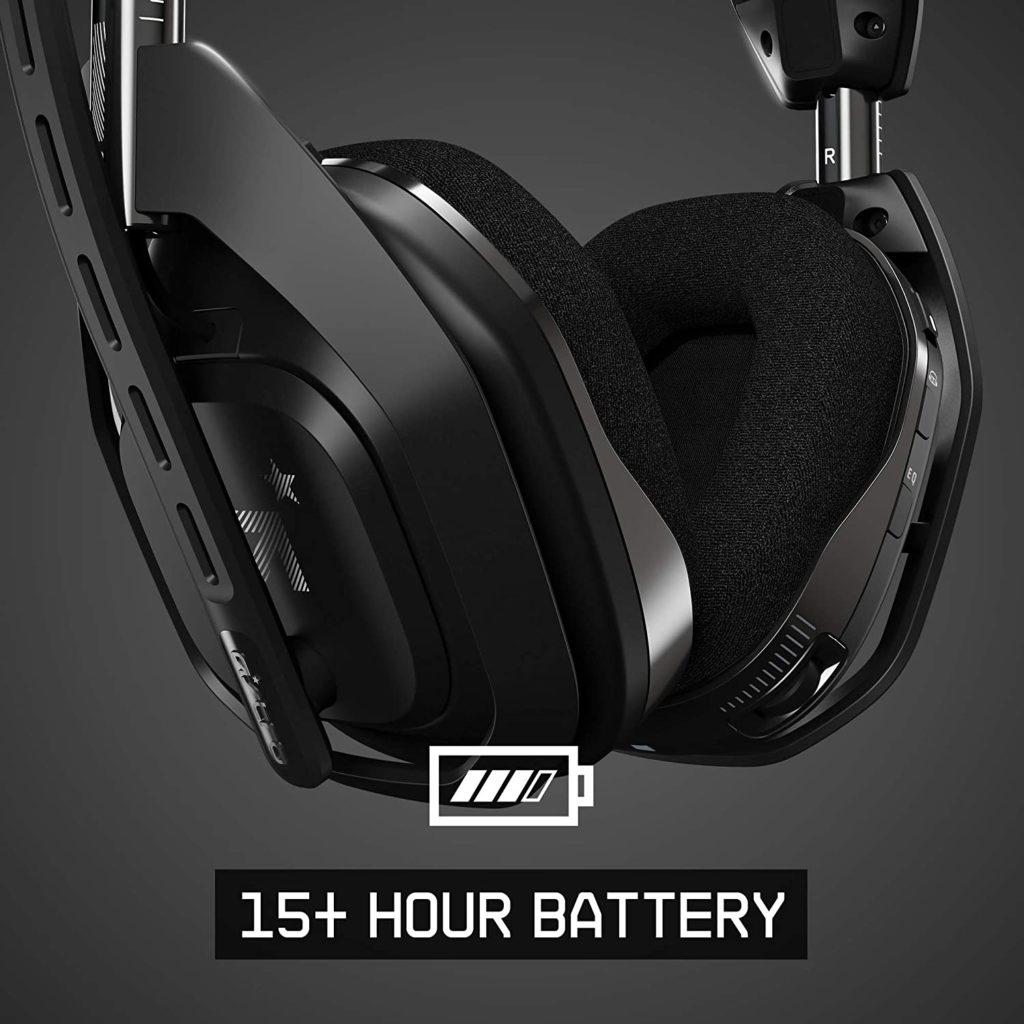 Astro Gaming A50 mit 15 Stunden Akkulaufzeit
