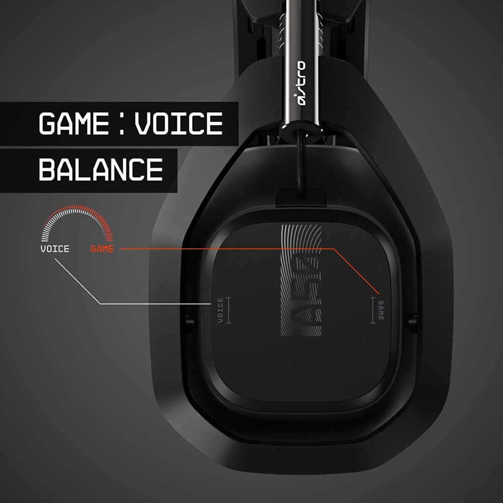 Astro Gaming A50 mit Game Voice Balance