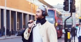 Panasonic RB-M700BE-C Bluetooth Over-Ear Kopfhörer in schwarz