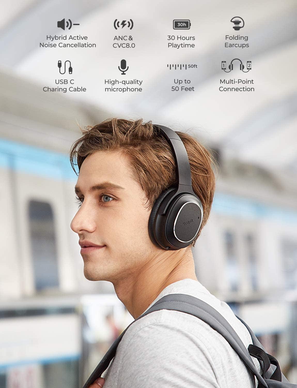 Tribit QuietPlus 72 Noise Cancelling Kopfhörer